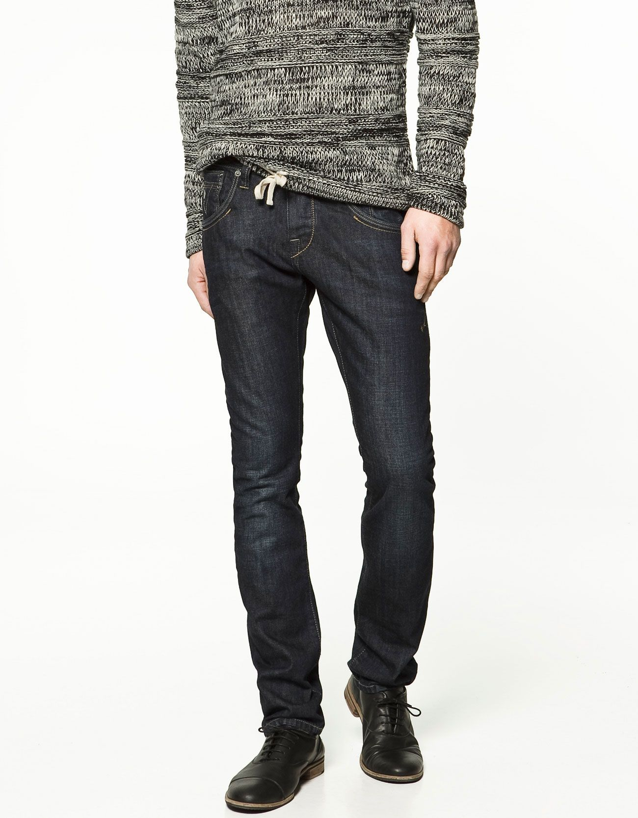 900c84a773 JEANS WITH TOPSTITCHED COIN POCKET - MAN - ZARA s s 2012