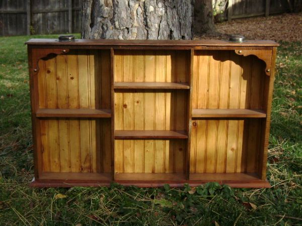 Wall shelf made from old drawer. | Old drawers, Decor ...