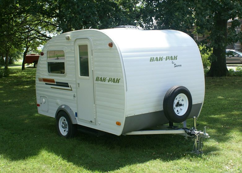 small camp trailer plans to the campfire bak pak camper - Small Camper Trailer