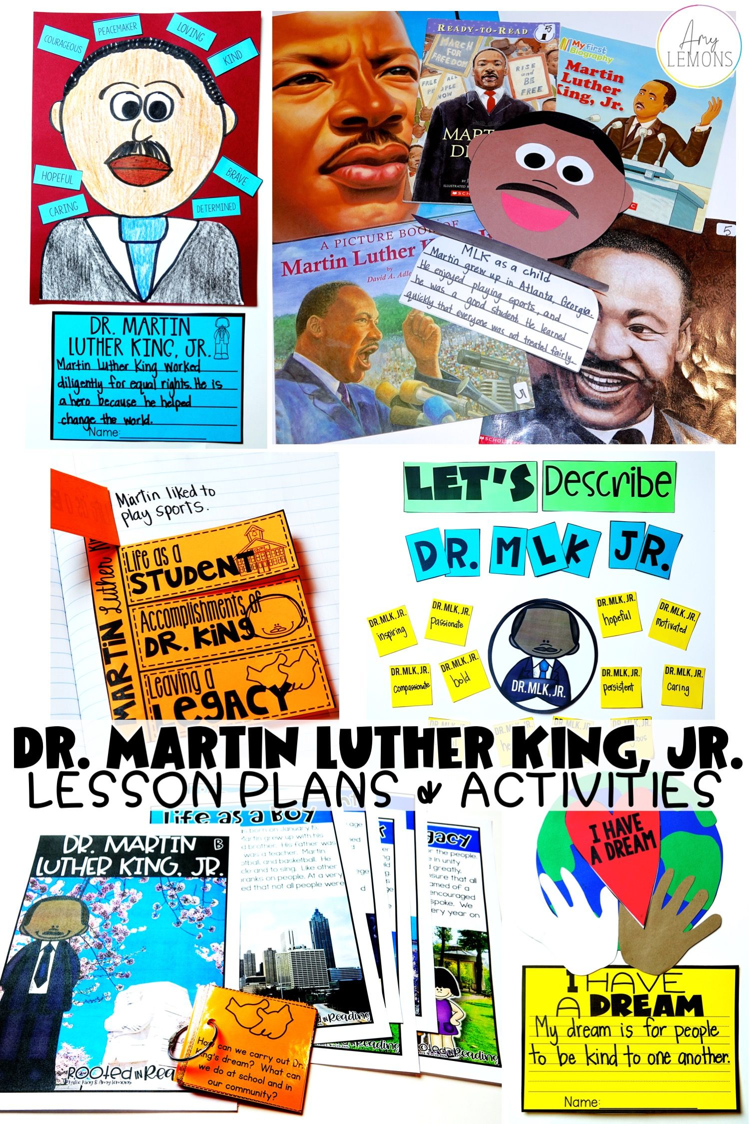 Fun Dr Martin Luther King Jr Activities And Lesson Plan