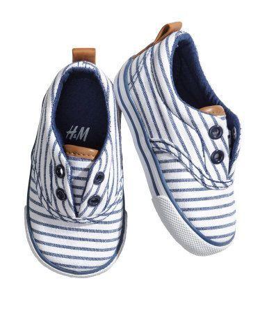 0509db87a68 Striped toddler boy shoes