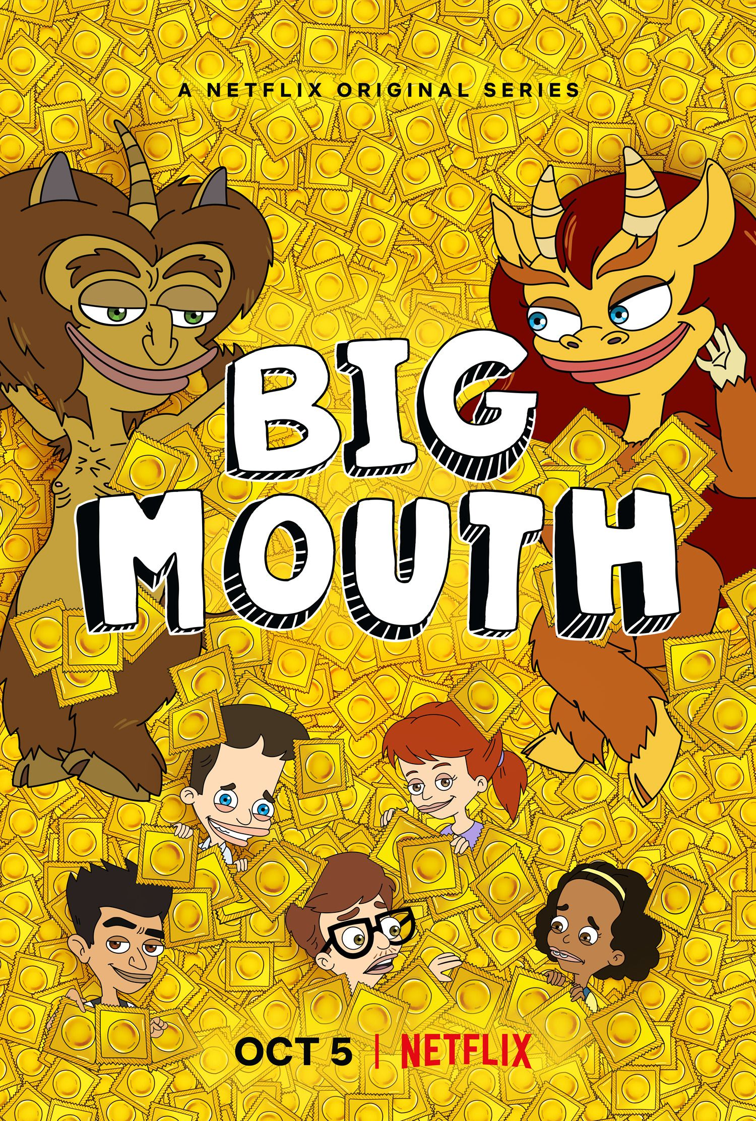 Caught up with S2 in 2018 Big mouth, Netflix series, Netflix