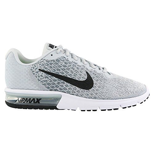 nike air max sequent 2 laufschuhe gr 45 weiß amazon