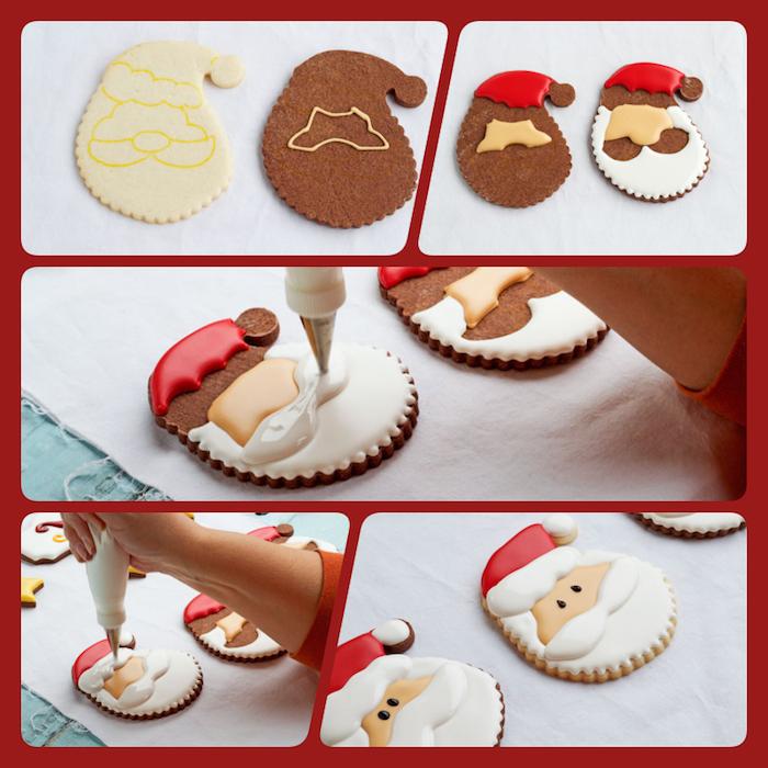 Glasur Weihnachtsplätzchen.1001 Originelle Ideen Wie Sie Plätzchen Verzieren Backen