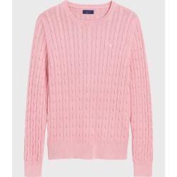Photo of Gant Sunbleached Sweater mit Zopfstrickmuster (Pink) GantGant