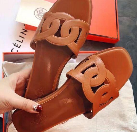Hermes Calfskin Omaha Sandals Brown · Hermes BirkinShoe Closet