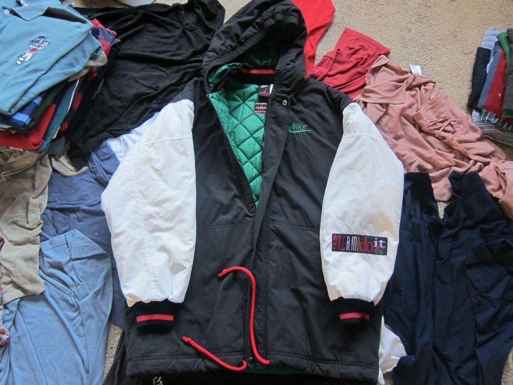 298678064e3e65 Vintage RARE Nike Air Jordan Jacket