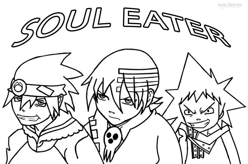 Printable Soul Eater Coloring Pages For Kids Cool2bkids Coloring Pages Coloring Pages For Kids Online Coloring Pages