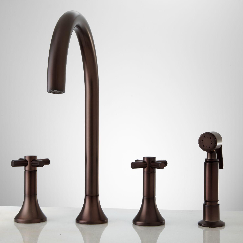 Kitchen Faucet With Handspray Ikea Metal Shelves Bendrix Widespread Hand Spray Oil