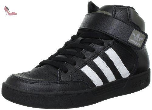 adidas Originals Varial Mid, Chaussures de skate homme - Noir (G56393), 44