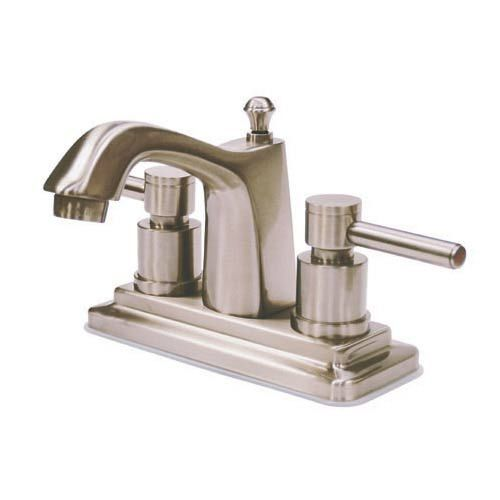 Elements Of Design Tampa Satin Nickel Bathroom Faucet With ...