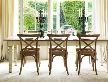 Country Dining Table. French Country Dining Room Category Image ...
