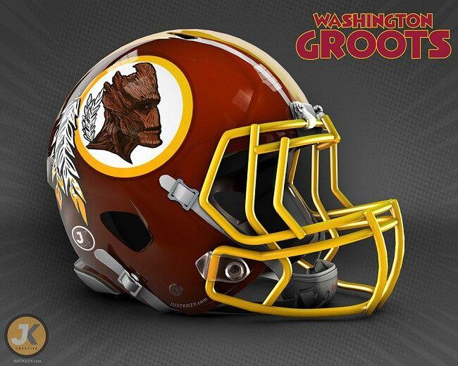 Washington Groots Football Helmets Football Nfl Teams