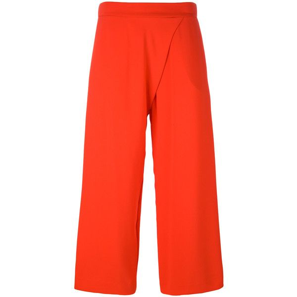 P.A.R.O.S.H. embroidered cropped trousers Perfect Sale Online aX9KePxKh