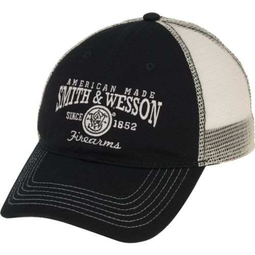 d7e0e8a3 Smith & Wesson Men's American Made Mesh Cap (Black, Size One Size) - Men's  Outdoor Apparel, Men's Hunting/Fishing Headwear at Academy Sports
