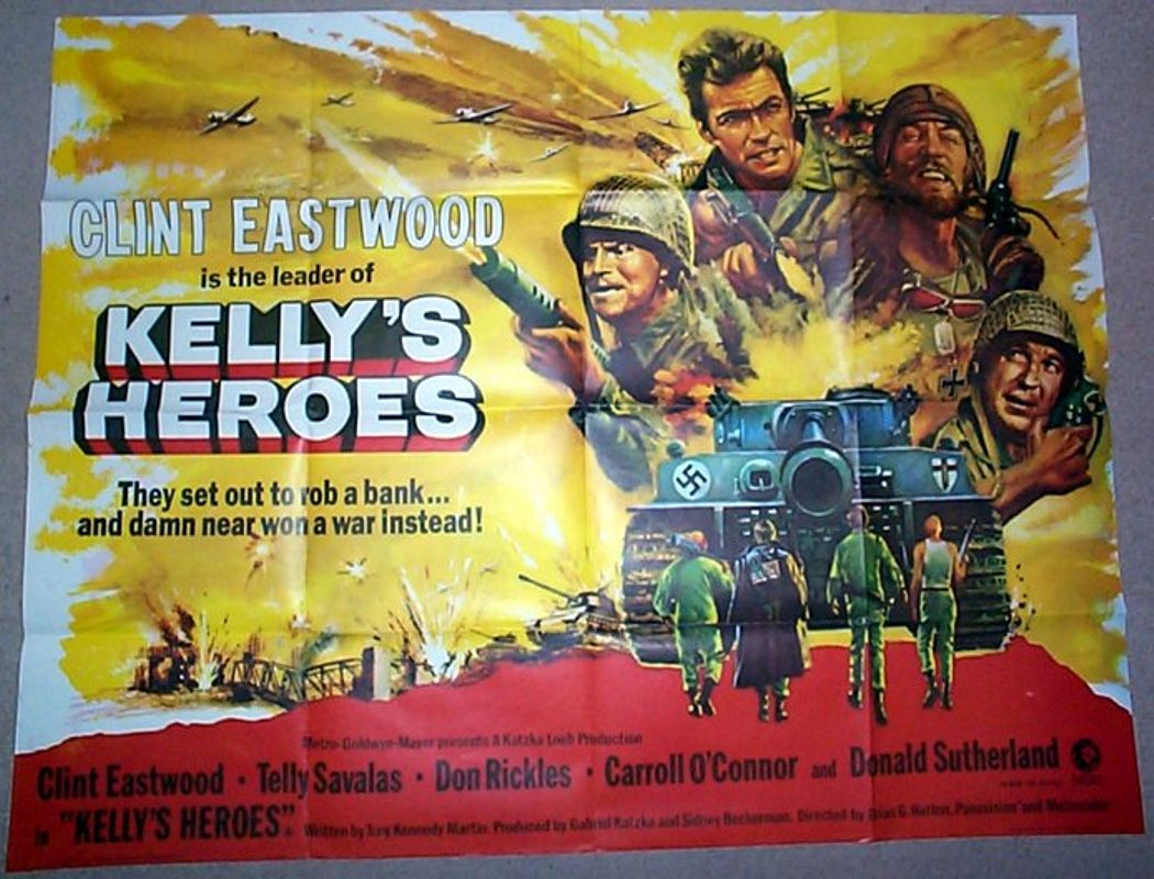 Kelly's Heroes: British Quad Poster