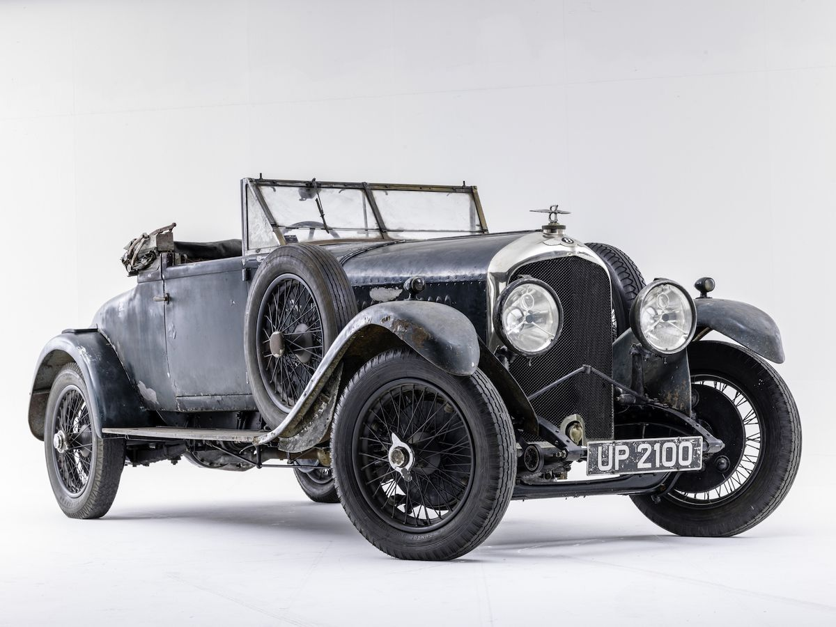 Vintage Bentley discovered in London house | Classic and Sports Car ...