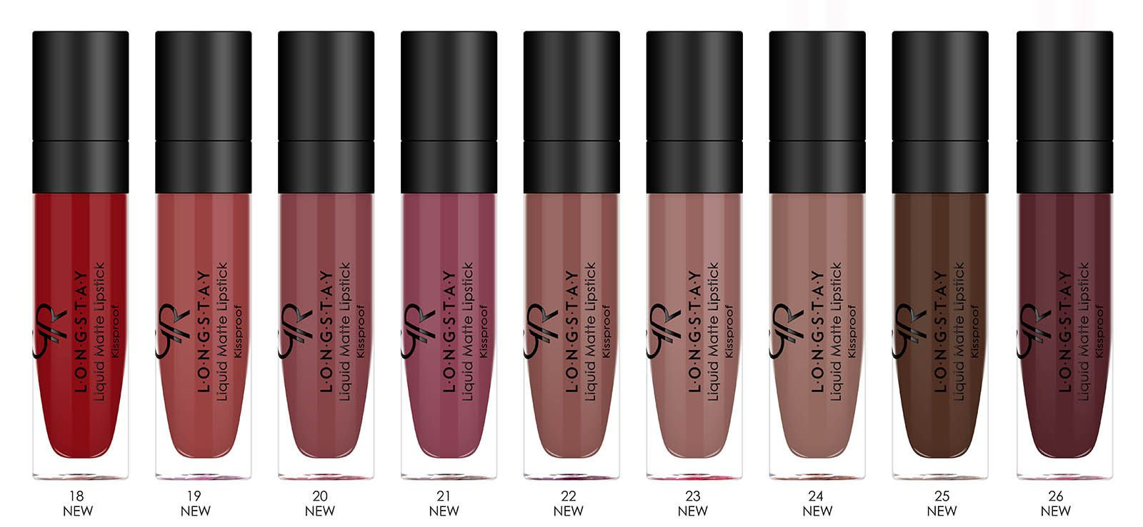 More Colours Added To Golden Rose Liquid Matte Lipstick Collection
