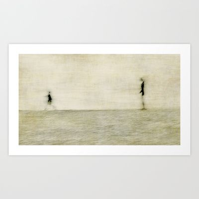 Mother and child Art Print by Anne Staub - $19.76
