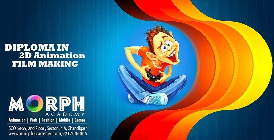 Morph Academy Offered Six Month And Six Week Industrial Training For Web Designing In Chandigarh Animation Film Animation Institute Animation