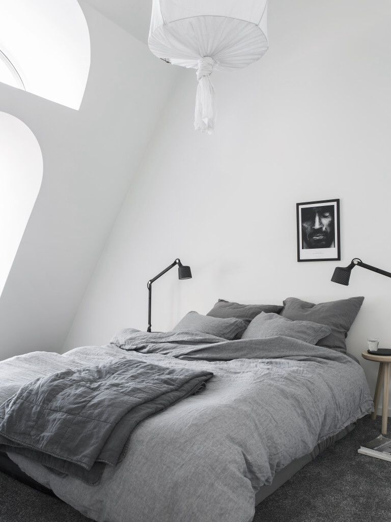 Clean Bedrooms Magnificent Modern Bedroom With Beautiful Clean Textiles And Paint Bed Design Ideas