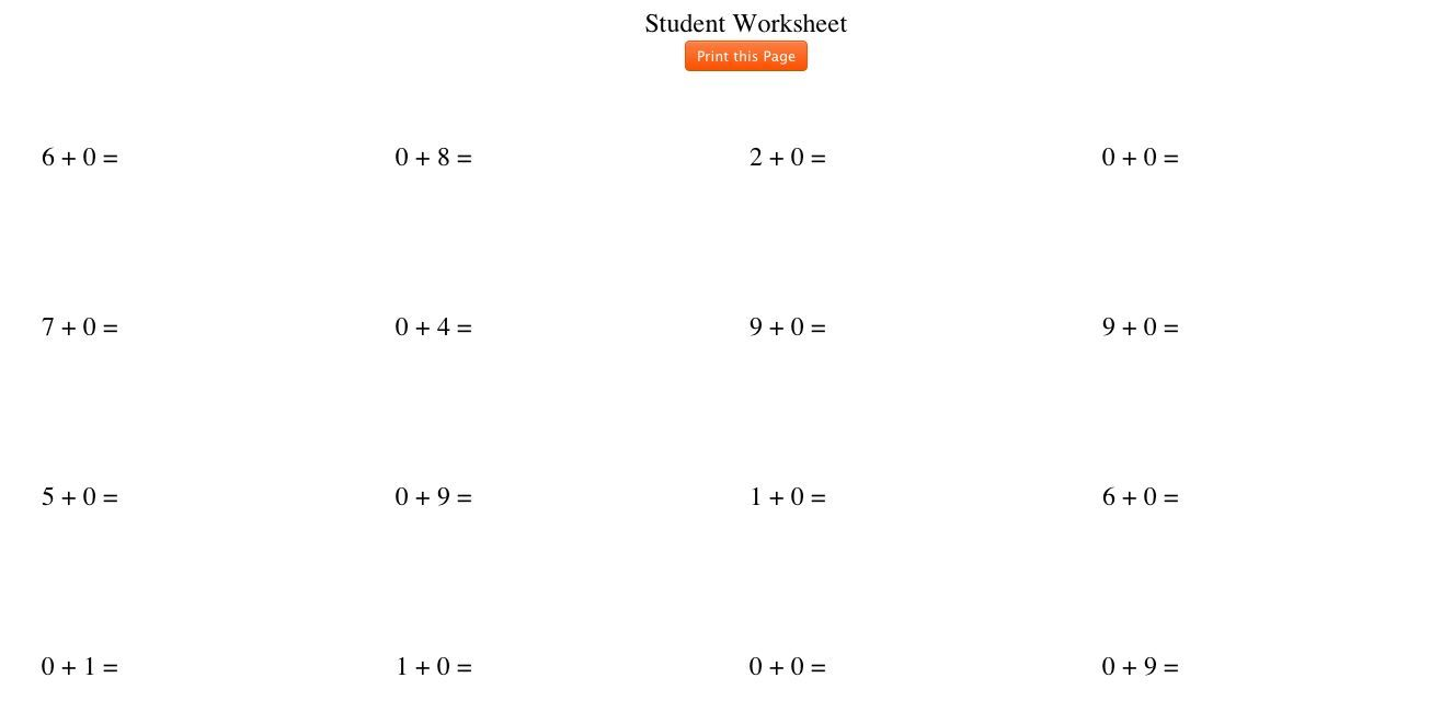 Use the free Worksheet Generator to create additional ...