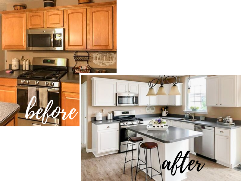 How To Paint Your Cabinets Like A Pro In 2021 Diy Kitchen Remodel New Kitchen Cabinets Kitchen Remodel Small