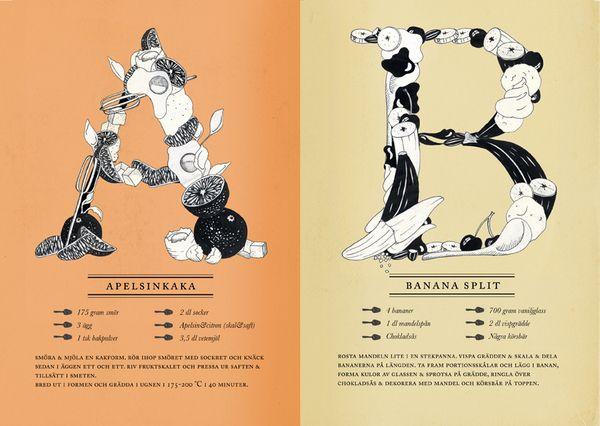ABC-recipes by Lina Forsgren
