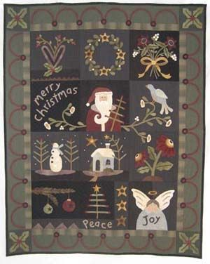 Heart To Hand Series of 13 months of wool kits & patterns. Please ... : wool applique quilt kits - Adamdwight.com