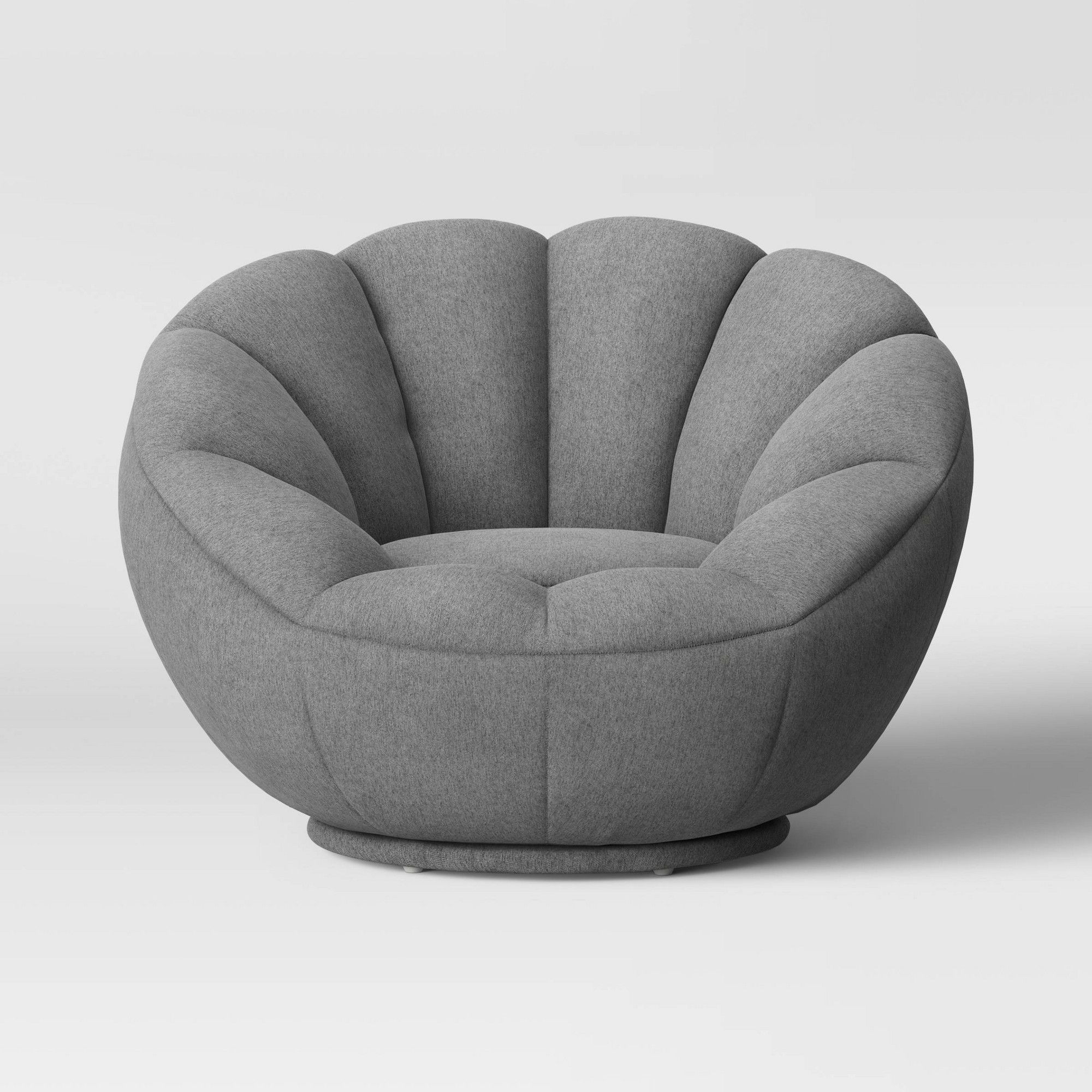 Fantastic Low Profile Swivel Tulip Chair Gray Room Essentials In Beatyapartments Chair Design Images Beatyapartmentscom
