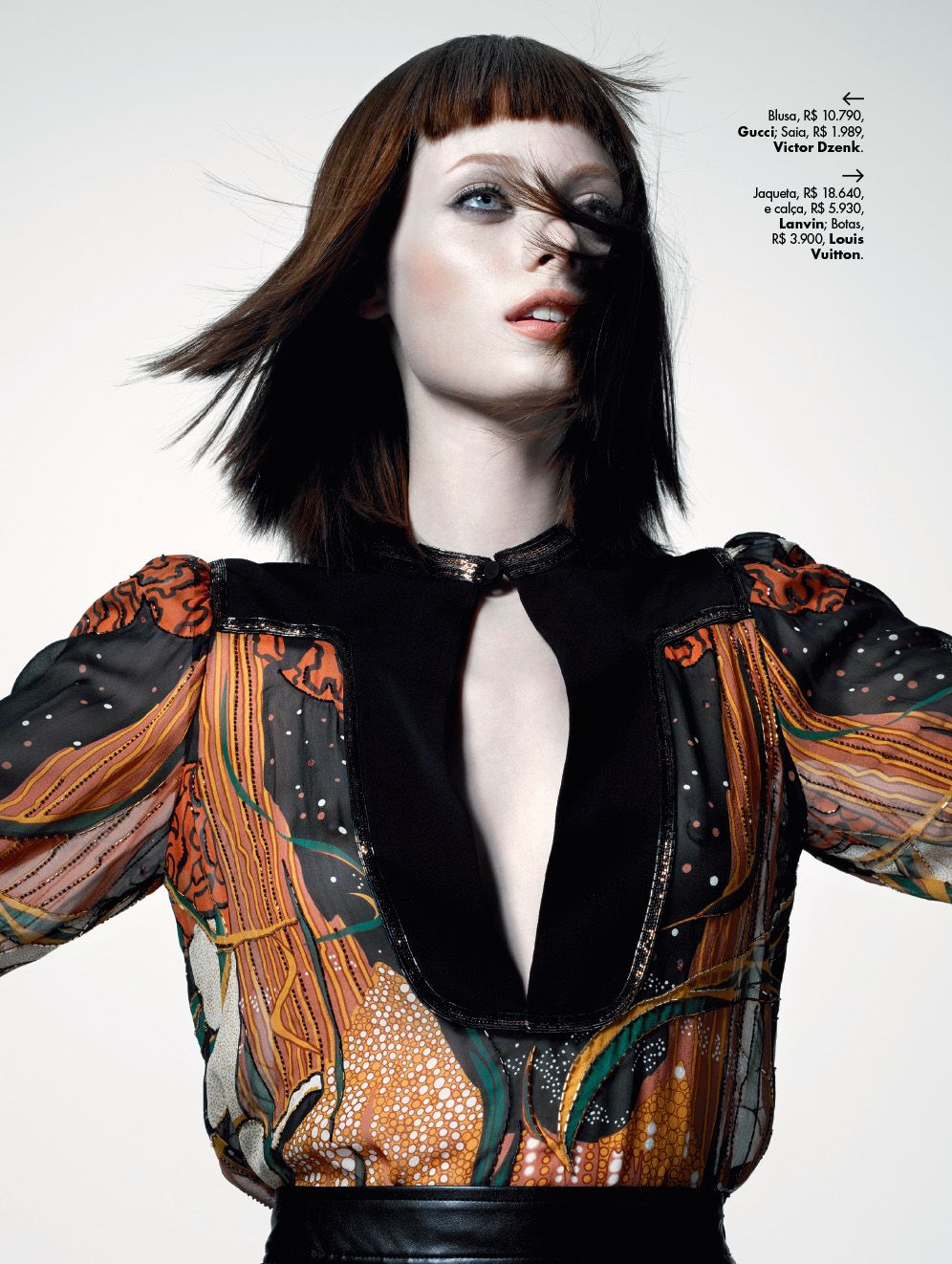 visual optimism; fashion editorials, shows, campaigns & more!: thairine garcia by gui paganini for l'officiel brasil june 2015