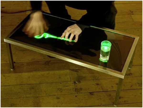 High-Tech coffee table | Project Design | Pinterest | Coffee