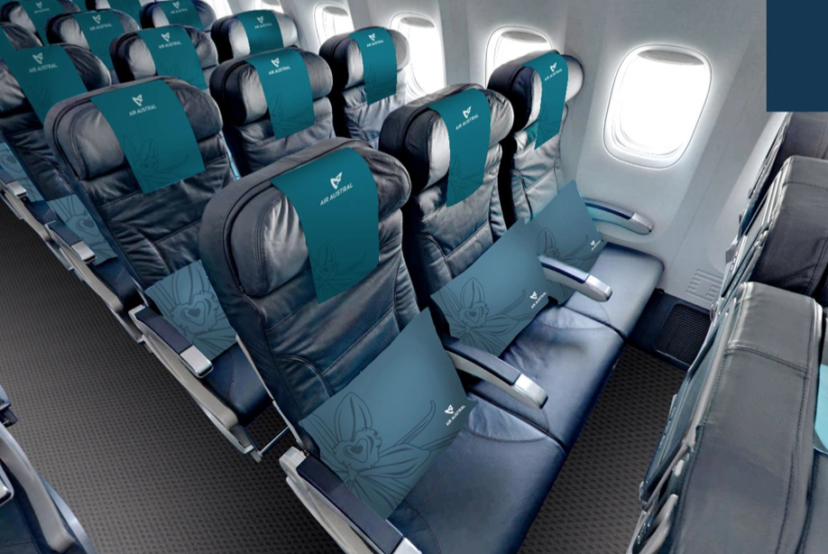 air austral new economy class loisir this is how the 39 leisure class 39 lives i bet the meals. Black Bedroom Furniture Sets. Home Design Ideas