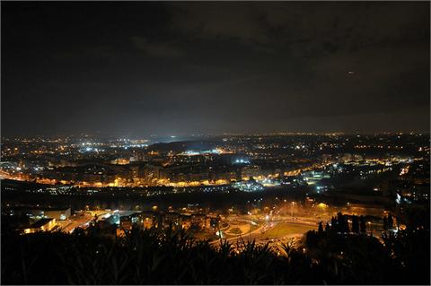 Roma vista dallo Zodiaco, a monte Mario.