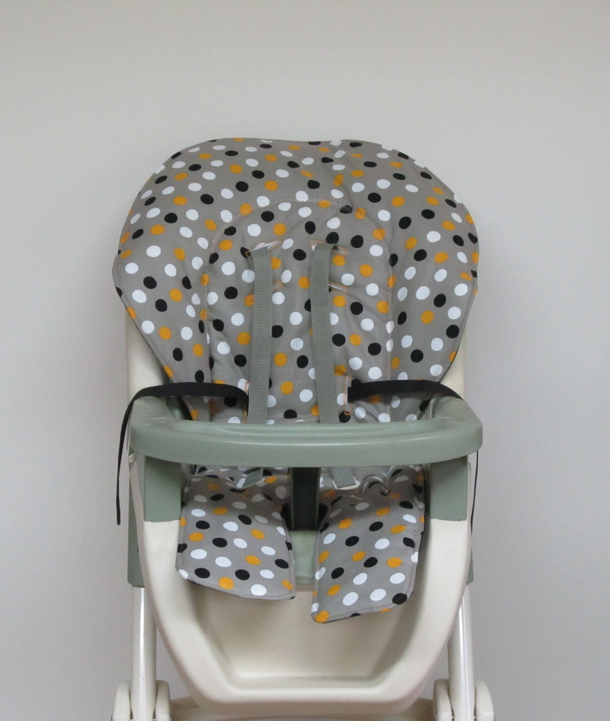 Graco Double Tray High Chair Cover Replacement Baby Chair Pad
