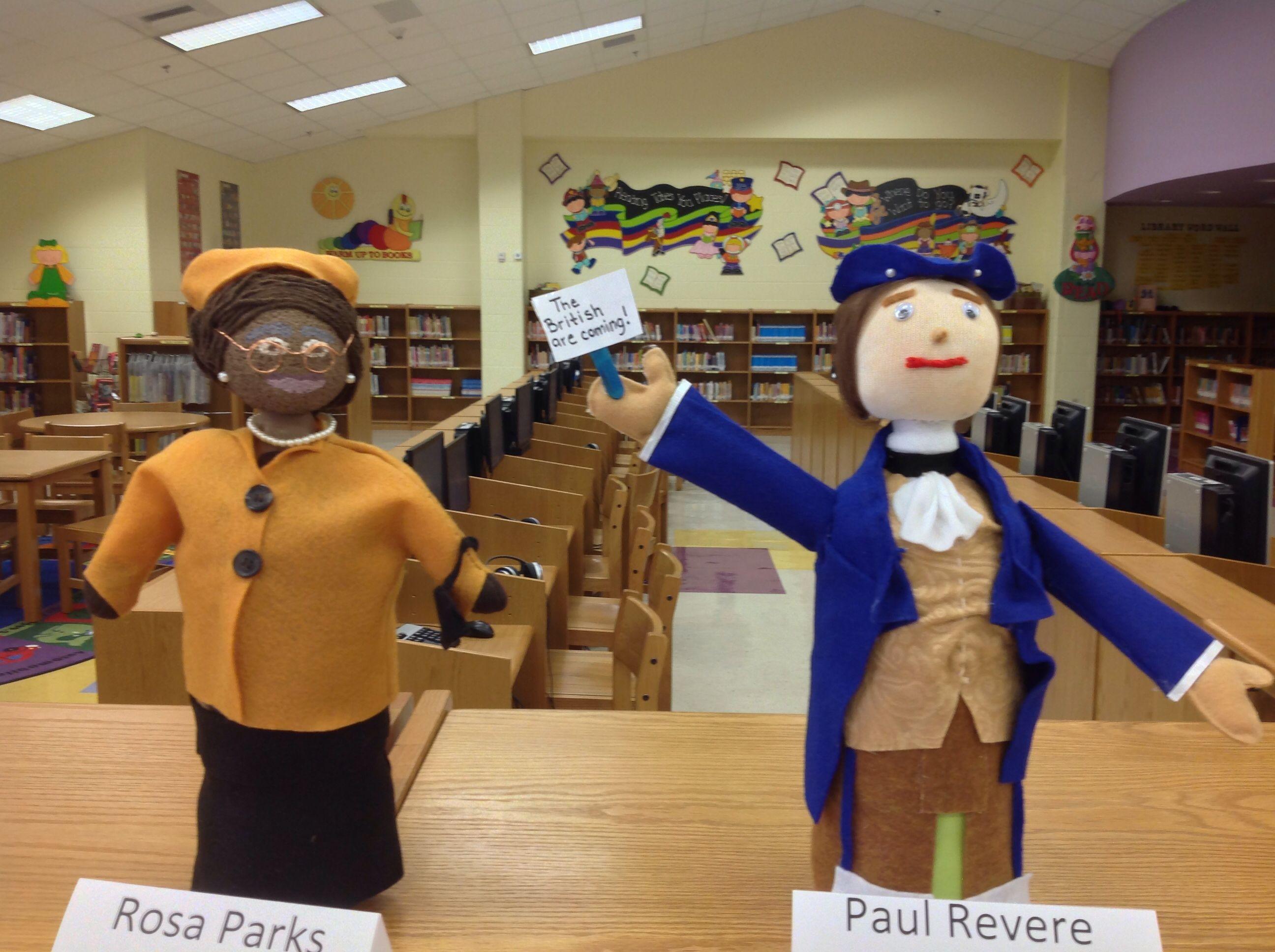 Rosa Parks Amp Paul Revere