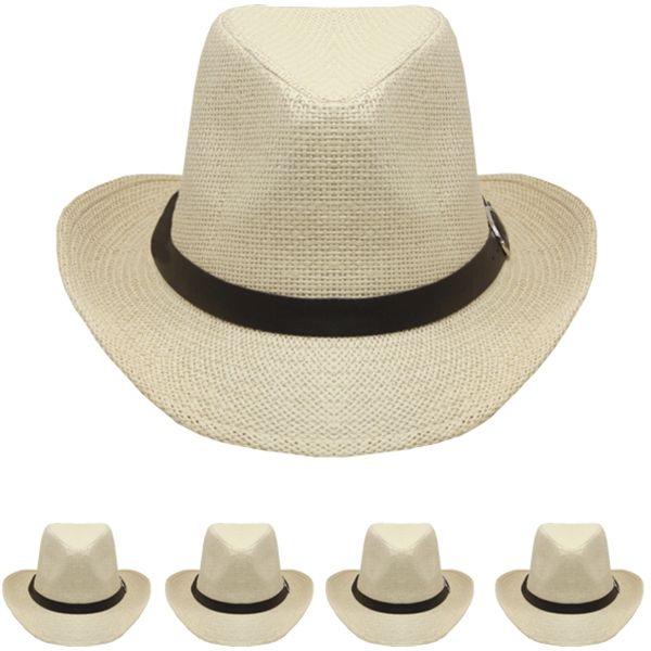 Plain Cream Color Western Cowboy Hat  263f9f0c963