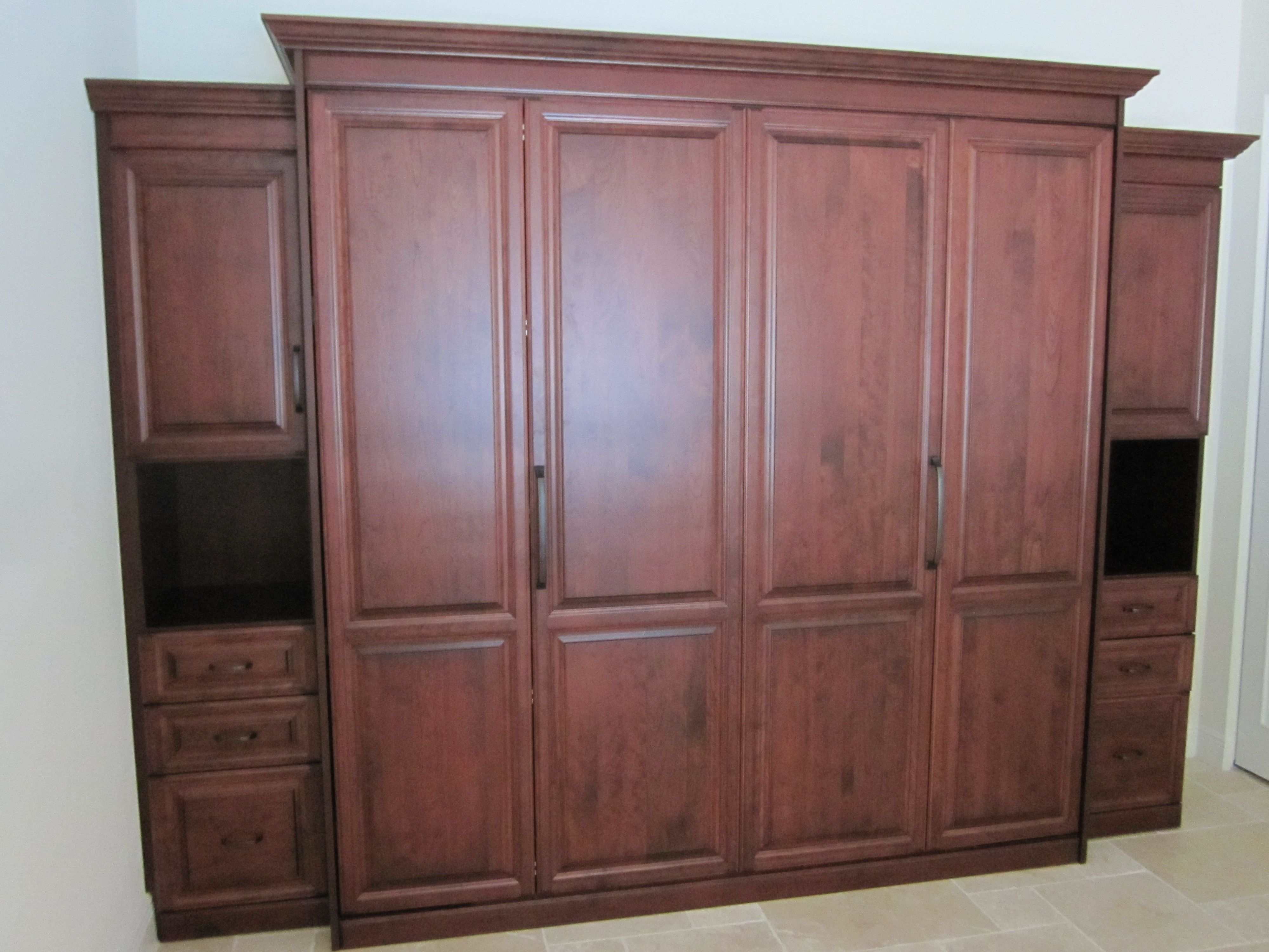 Murphy Bed Bookcase Custom Closet Closets Organization Space Saver Furniture