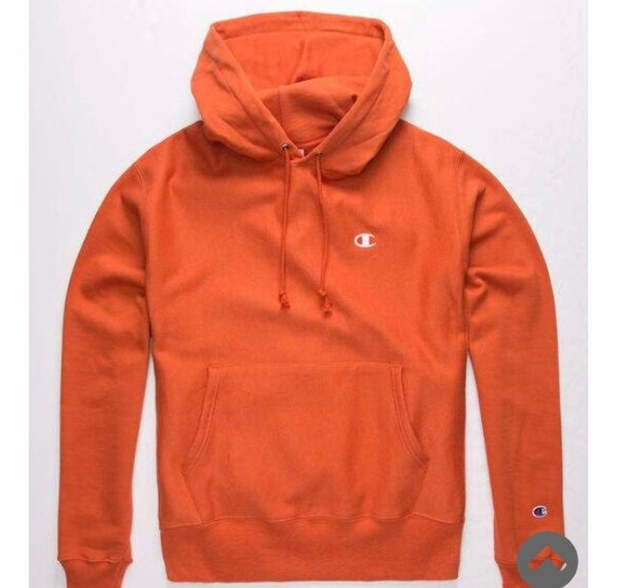 Champion Hoodie On Mercari Hoodies Men Orange Champion Hoodie Hoodies [ 1144 x 1200 Pixel ]