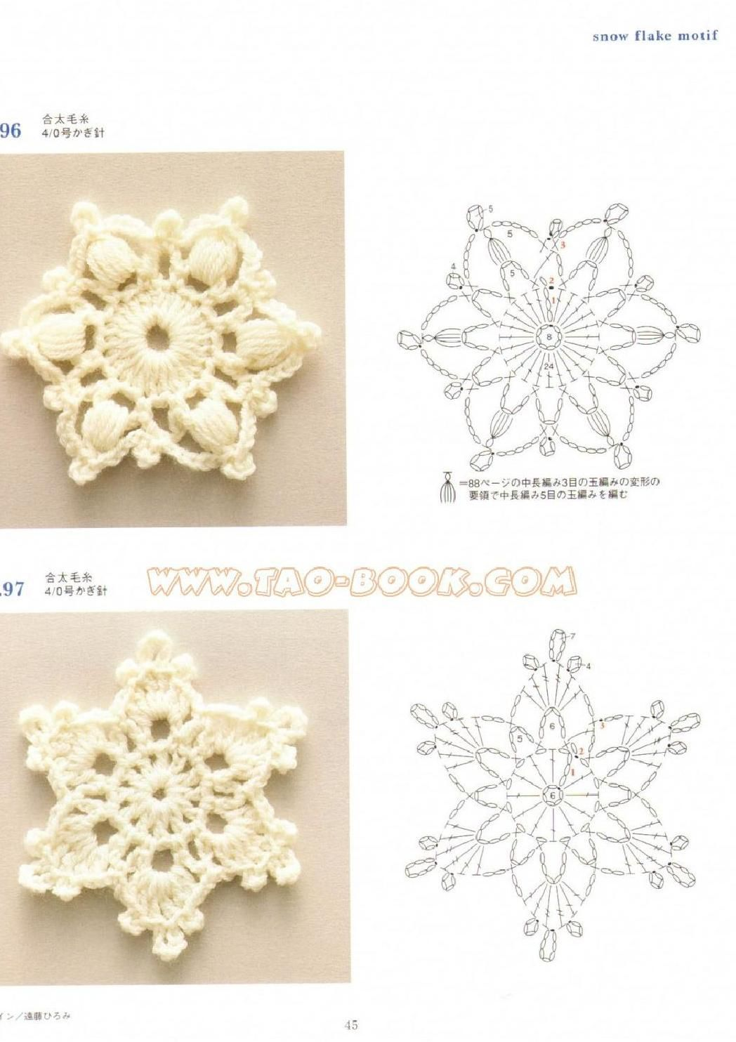 Ondori motif and edging designs #crochetmotif