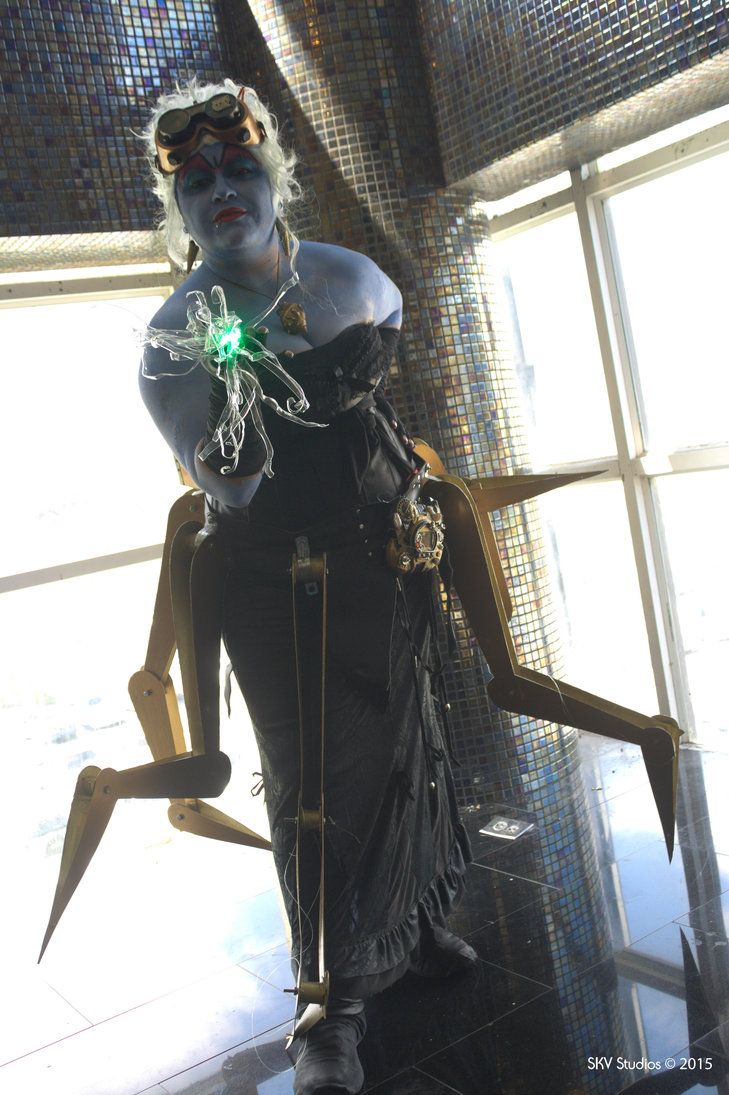 Ursula Steampunk by SKVStudios | Sea Witch Cosplay | Pinterest ...