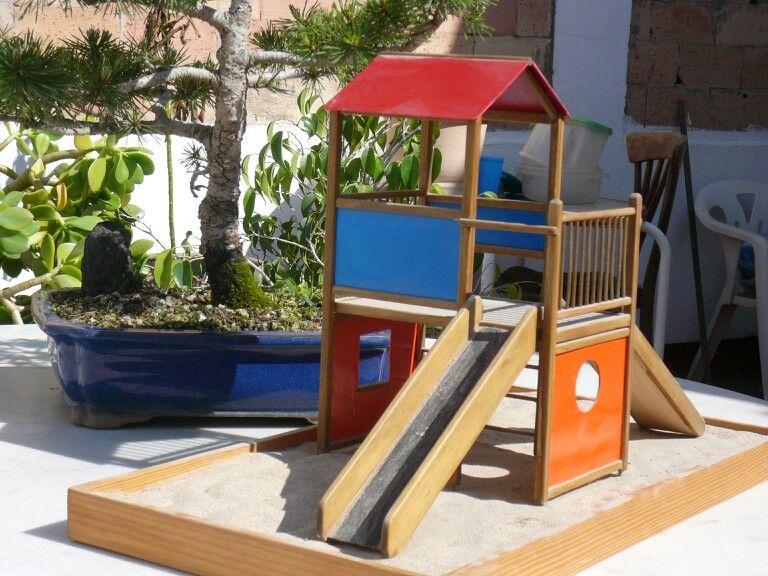 Maqueta De Parque Infantil Park Park Slide Structures