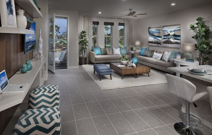 Rowland Residence 4 Living Space New Homes Real Estate Lennar