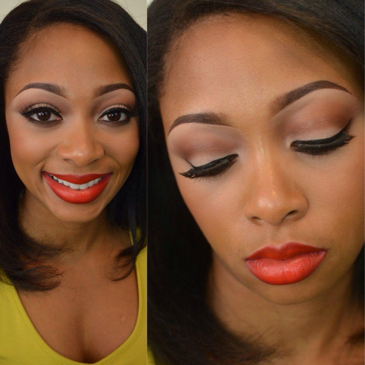 RHOA Reunion 2014 Cynthia Bailey Makeup Tutorial Makeup