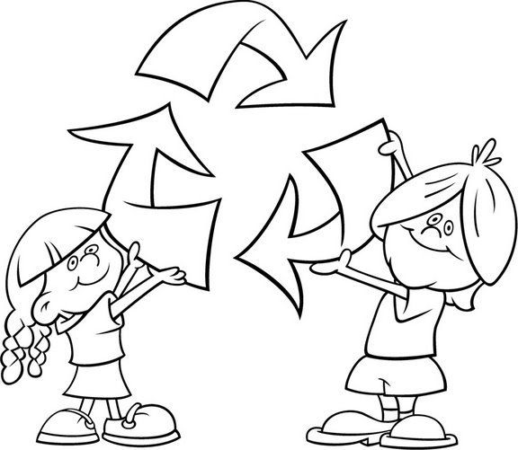 Reciclar Es Importante Dibujalia Dibujos Para Colorear Eventos Esp Actividades De Reciclaje Para Ninos Medio Ambiente Para Colorear Medio Ambiente Dibujo