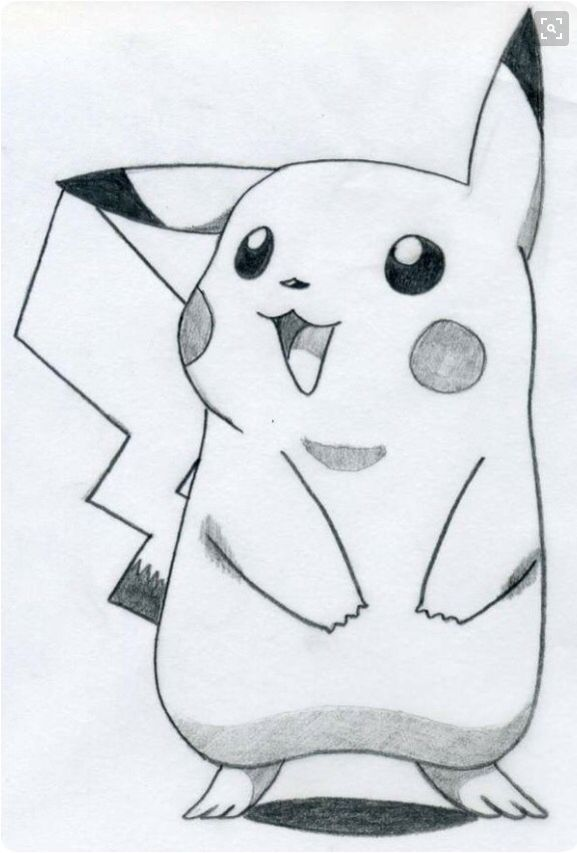 Pikachu From Pokemon | Drawing Tablet | Pinterest | Zeichnungen ...