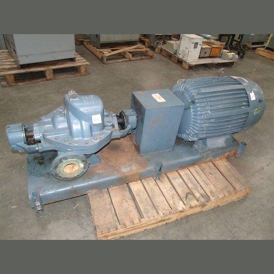 Pump: Model: Ingersoll Dresser 2LLR-11  Type: Horizontal, split case