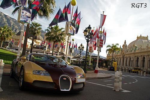 Carte virtuelle Bugatti Veyron http://bit.ly/VxPYYX #CartePostale #Wallpaper