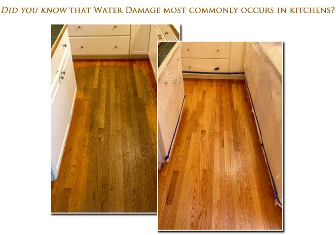 Easy Tips Removing Water Damage From Wood It S Works Home