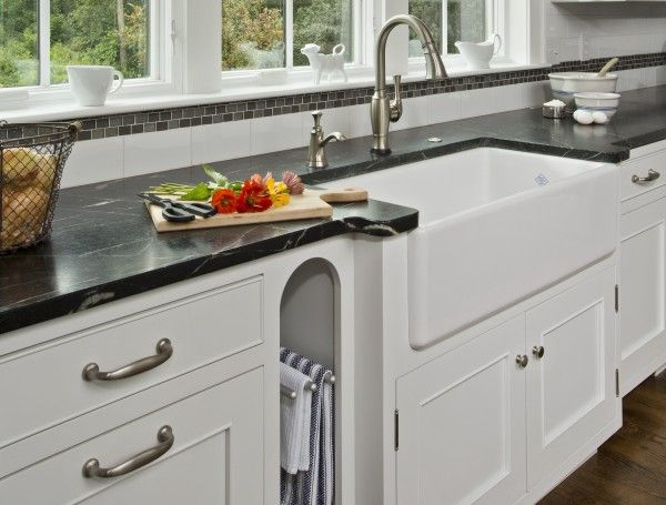Image Of Gorgeous High End Kitchen Towel Bar From Brushed Nickel